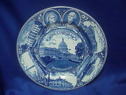 The Washington Dc Capitol Plate Old English Staffordshire Ware Made In England