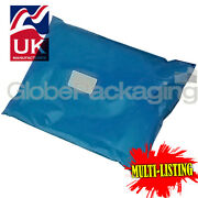 Strong Metallic Blue Mailing Postal Plastic Poly Bags Mailers All Sizes/qtyand039s