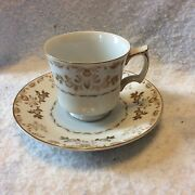 Harmony House Classique Gold 3672 Cup And Saucer Made In Japan