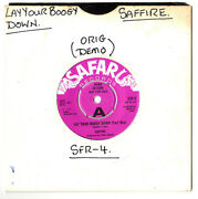 Saffire.lay Your Boogy Down,part's 1and2.uk Orig Soul 7 Demo.ex+
