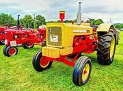 Old Photo. Yellow/red 1962 Cockshutt 560 Tractor