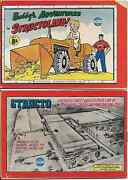 Bobbyand039s Adventures In Structoland 2 Rare Mini Promo Giveaway Vg 1956 Structo