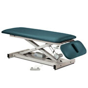 Treatment Exam Table Power Height Drop Section Space Saver Slate Blue