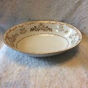 Harmony House Classique Gold 3672 Oval Vegetable Or Serving Bowl Made In Japan