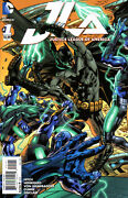 Justice League Of America 2015 1 Gatefold Variant Cover 1100
