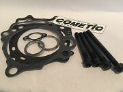 09+ Yfz450r Yfz 450r 450x Heavy Duty Studs Kit And 98mm Cometic Top End Gasket