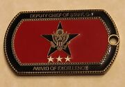 Department Of The Army Deputy Chief Of Staff G-1 Award Army Challenge Coin