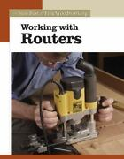 Working With Routers Fine Woodworking Woodcarving Book Softcover Workshop Tool