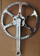 Sunxcd 50.4bcd Single Chainset With Ta Ring - Cyclotouriste Stronglight 49d