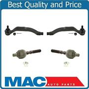 97-98 Acura 3.2tl / 96-04 Acura 3.5rl Inner And Outer Tie Rod Ends New 4pc