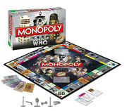 Dr. Who 50th Anniversary Monopoly Game Collector's Edition Great Holiday Gift