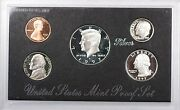 1997-s Us Mint Silver Proof Set 5 Gem Coins Without Box