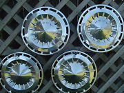 1962 62 Chevrolet Chevy Ii Hubcaps Wheel Covers Center Caps Vintage Classic