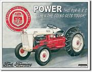 Ford Golden Jubilee Model Tractor Nostalgic Tin Metal Sign Made In The Usa
