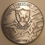 10th Special Forces Group Airborne 1st Battalion Bad Tandoumllz Army Challenge Coin