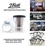 2fastmoto Velocity Stack Motorcycle Air Intake Filter Aprilia Sl Rs Cafe Racer