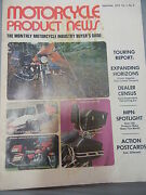 1974 Motorcycle Product News Buyers Guide Vol 1 5 54 Pages