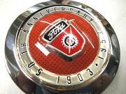 1953 53 Ford Truck Red 50 Th Anniversary Horn Button F100 F250 New
