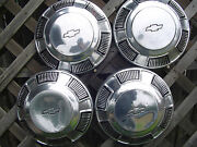 Chevrolet Chevy Biscane Belair Nomad Impala Center Caps Hubcaps Wheel Covers