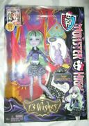 Monster High 13 Wishes Twyla Doll Diary And Pet Dustin