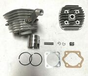 47mm 66cc 80cc Motorized Bicycle Engine Parts Topend 1 1/16 Type B 8mm Silver