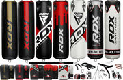 Rdx Punch Bag Filled Free Standing Hanging Boxing Set Heavy Mma Punch Training