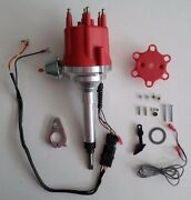 Small Cap Chevy Inline 6 Cylinder 194-216-235 Straight 6 Red Hei Distributor