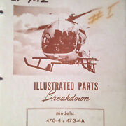 Bell Helicopter 47g-4 And 47g-4a Parts Manual