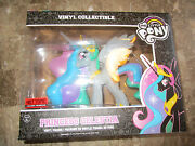 My Little Pony Vinyl Princess Celestia Clear Variant Chase Funko Exclusive