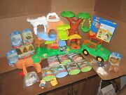 Fisher Price Little People Animal Sounds Zoo Talkers No Box New 24 Figure Lot