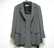 G.w Classic Gerry Weber Woman Lady Jacket And Skirt Suit Size Us 14 European 44