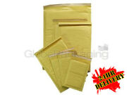 1000 X C/0 Gold Padded Bubble Envelopes Mailers Bags 150x215mm Special Offer