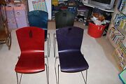 Four Customized Leland Chairs