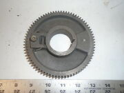 Machinist Tools Lathe Mill South Bend Head Stock Bull Gear 1 5/8 Center