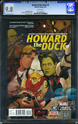 Howard The Duck 2 - Cgc 9.8 - The Collector And Rocket Racoon - First Print