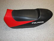 2005-2006 Polaris Fusion Snowmobile Seat Red And Black Inventory C5