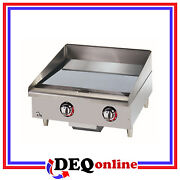 Star 524chsf Star-max Chrome Electric Griddle 24 Wide Griddle
