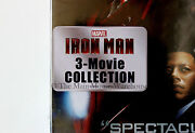 Marvel Iron Man Trilogy 1 2 And 3 Dvd Movie Collection English French And Spanish