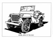 Complete, Professionally Printed And Bound Manual Set For Ww2 Jeep/mb/gpw/g503