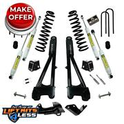 Superlift K975 4 Lift Kit Replace Radius Arms Shocks For 05-07 Ford F-250/f-350