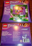 Lego Friends Rare Picture Frame 49 Pcs 6+ Set 6000355 New In Box Cat Fence More