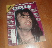 Circus Magazine 3/17/77 Bad Co Queen Ramones With Paul Rodgers Poster Vg++