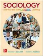Sociology And Your Life With P. O. W. E. R. Learning By Richard T. Schaefer...