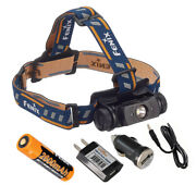Fenix Hl60r 950 Lumens Usb Rechargeable Headlamp With Ac And Car Usb Adapters
