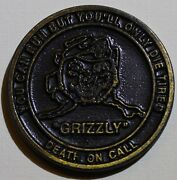 Tactical Air Control Paty Tacp Alaska Grizzly Air Force Challenge Coin