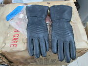 Vintage Beck Arnley Caracal Gauntlet Motorcycle Gloves Size Small 11-4065