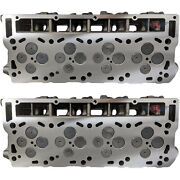 New Ford 6.0 Powerstroke Cylinder Heads 2 20mm Complete Loaded Set No Core