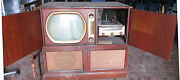 Vintage Admiral Console Model 39x36 Television / Record Player / Radio