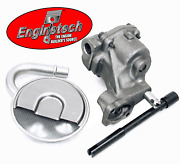 Stock Oil Pump W/ Pickup Screen And Hd Drive For Chevrolet Sbc 283 305 327 350 400