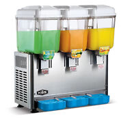 Kws Commercial Cold And Hot Beverage Dispenser 3 Tanks 3 Gallon Per Tank 3p